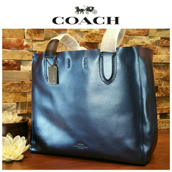 SALE  NEW Coach LARGE Derby Tote 5897f0b2ebe06
